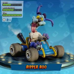 As crazy as Ripper Roo.